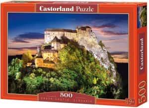 Puzzles de Eslovaquia - Puzzle del Castillo de Orava de 500 piezas