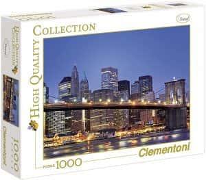 Puzzles de Nueva York - New York - Puzzle de 1000 piezas de Nueva York de noche