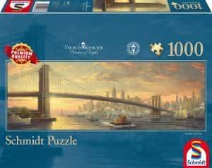 Puzzles de Nueva York - New York - Puzzle de 1000 piezas de panorama de Nueva York vintage
