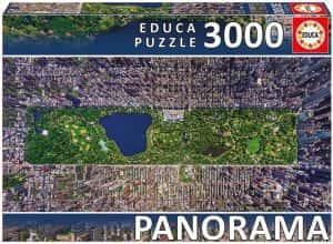 Puzzles de Nueva York - New York - Puzzle de Nueva York desde el aire de 3000 piezas