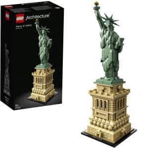 Puzzles de Nueva York - New York - Puzzle de la estatua de la libertad de lego