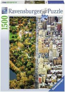 Puzzles de Nueva York - Puzzle de Nueva York dividida de 1500 piezas
