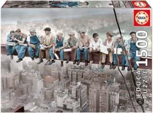 Puzzles de Nueva York - Puzzle de almuerzo en Nueva York de 1500 piezas