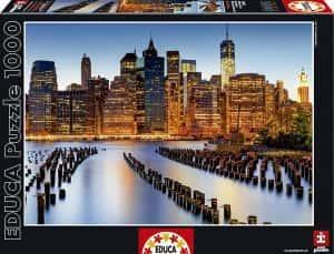 Puzzles de Nueva York - Puzzle de los rascacielos desde el agua