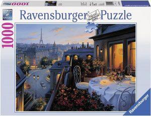 Puzzles de París - Puzzle de París de 1000 piezas de cena en París