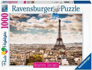 Puzzles de París - Puzzle de París de 1000 piezas de la Torre Eiffel