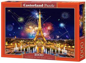 Puzzles de París - Puzzle de París de 1000 piezas de la Torre Eiffel Fin de año