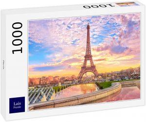 Puzzles de París - Puzzle de París de 1000 piezas de la Torre Eiffel de día