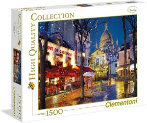 Puzzles de París - Puzzle de París de 1000 piezas de noche de París