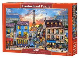 Puzzles de París - Puzzle de París de 500 piezas de la Torre Eiffel