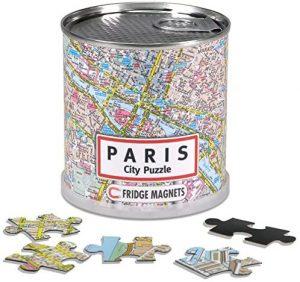 Puzzles de París - Puzzle de París del mapa