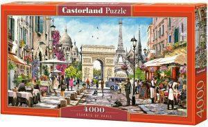 Puzzles de París ciudad - Puzzle de Monumentos de París de 4000 piezas