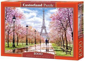Puzzles de París ciudad - Puzzle de paseo por la Torre Eiffel de 1000 piezas