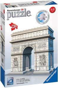 Puzzles de París en 3D - Arco del triunfo en 3D