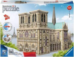 Puzzles de París en 3D - Notre Dame en 3D