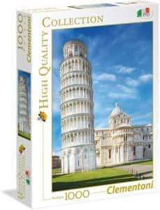 Puzzles de Pisa - Puzzle de la Torre de Pisa de Clementoni de 1000 piezas