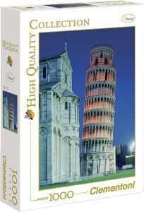 Puzzles de Pisa - Puzzle de la Torre de Pisa de Clementoni de noche de 1000 piezas