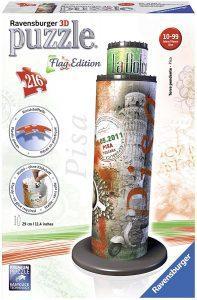 Puzzles de Pisa - Puzzle de la torre de Pisa en 3D edición especial