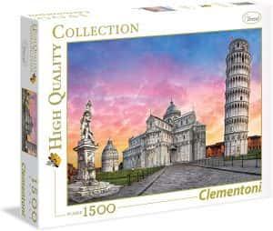 Puzzles de Pisa - Puzzle del conjunto monumental de Pisa de 1500 piezas