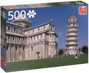 Puzzles de Pisa - Puzzle foto de la Torre de Pisa de 500 piezas
