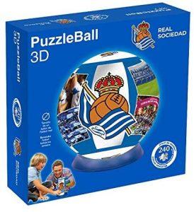 Puzzles de San Sebastián - Puzzle de balón de la Real Sociedad en 3D