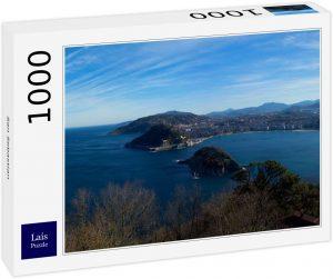Puzzles de San Sebastián - Puzzle de la playa de la Concha de 1000 piezas