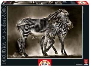 Puzzles de cebras - Puzzle de cebras de 500 piezas