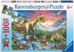 Puzzles de dinosaurios - Puzzle de 100 piezas de Ravensburger de dinosaurios