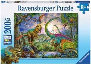 Puzzles de dinosaurios - Puzzle de 200 piezas de dinosaurios