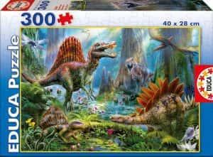 Puzzles de dinosaurios - Puzzle de 300 piezas de dinosaurios