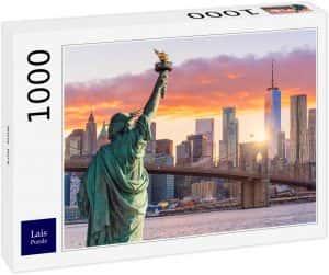 Puzzles de la ciudad de Nueva York - Puzzle de 1000 piezas de Nueva York de la Estatua de la Libertad