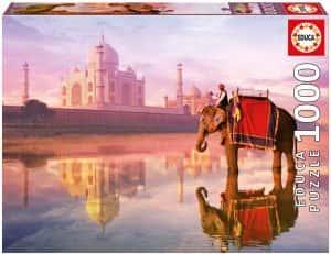 Puzzles del Taj Mahal en la India - Puzzle de 1000 piezas del Taj Mahal de Educa
