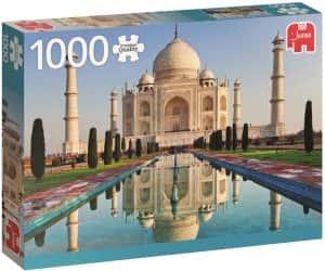 Puzzles del Taj Mahal en la India - Puzzle de 1000 piezas del Taj Mahal de Jumbo