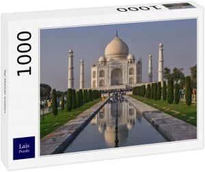 Puzzles del Taj Mahal en la India - Puzzle de 1000 piezas del Taj Mahal de Lais 2