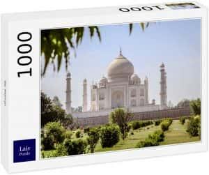 Puzzles del Taj Mahal en la India - Puzzle de 1000 piezas del Taj Mahal de Lais 3