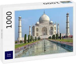 Puzzles del Taj Mahal en la India - Puzzle de 1000 piezas del Taj Mahal de Lais