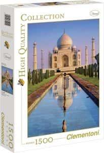 Puzzles del Taj Mahal en la India - Puzzle de 1500 piezas del Taj Mahal de Clementoni