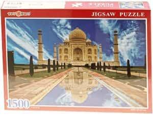Puzzles del Taj Mahal en la India - Puzzle de 1500 piezas del Taj Mahal de ToysBro