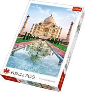 Puzzles del Taj Mahal en la India - Puzzle de 500 piezas del Taj Mahal de Trefl