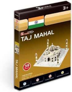 Puzzles del Taj Mahal en la India - Puzzle del Taj Mahal en 3D de 39 piezas
