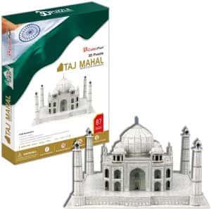 Puzzles del Taj Mahal en la India - Puzzle del Taj Mahal en 3D de 87 piezas