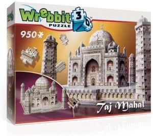 Puzzles del Taj Mahal en la India - Puzzle del Taj Mahal en 3D de 950 piezas