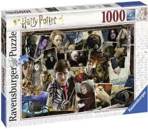 Puzzle de Harry Potter - Colección de puzzles de Harry Potter de recortes