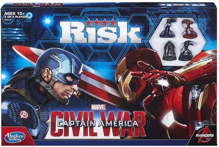 Versiones del risk - Risk Capitian America Civil War
