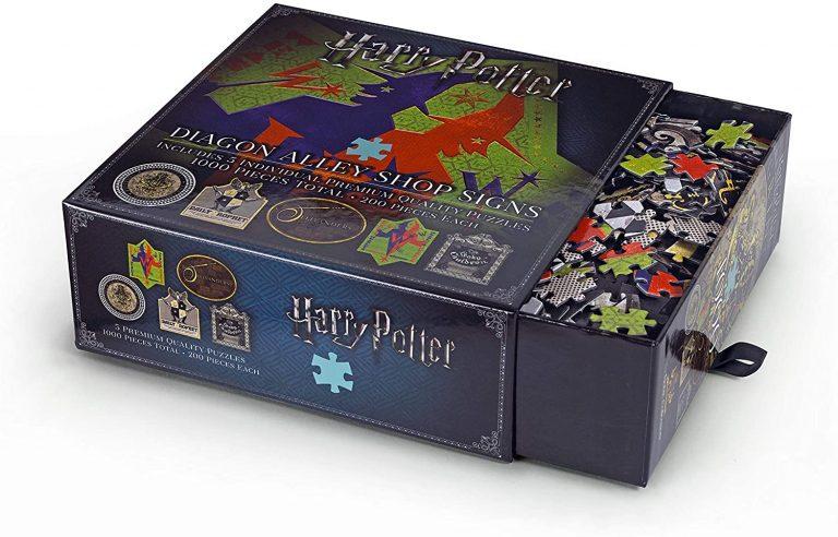 Señales del callejon Diagon Puzzle de Harry Potter