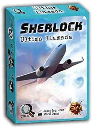 Sherlock Holmes Juego de mesa de inteligencia ultima llamada