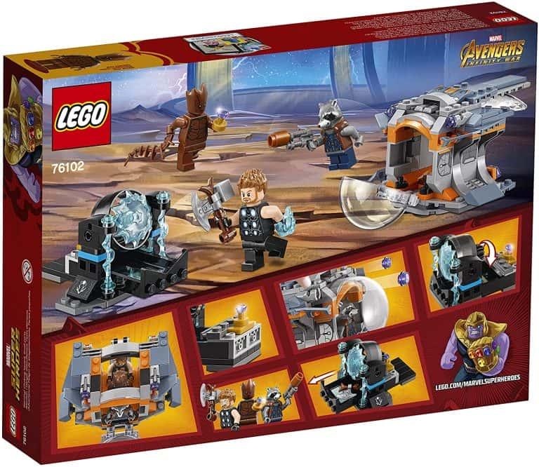 Sets de Lego de construcción de Marvel Vengadores - LEGO Stormbreaker