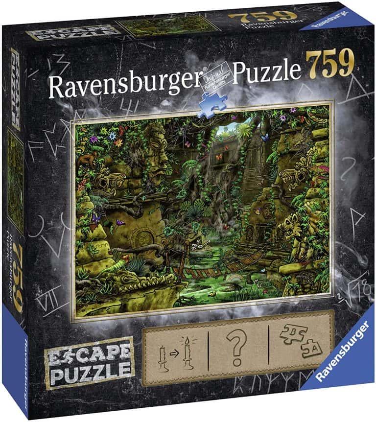 Juegos de mesa y puzzles de Escape - El templol