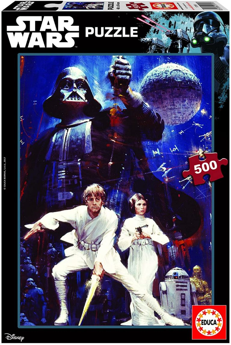 Puzzles de Star Wars - Darth Vader