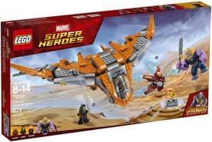 Sets de Lego de construcción de Marvel Vengadores - LEGO luchando contra Thanos